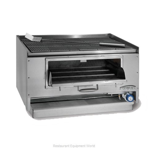 Imperial MSQ-60 Charbroiler, Wood Burning