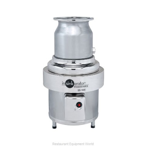InSinkErator SS-1000-12AAS101 Disposer (Magnified)