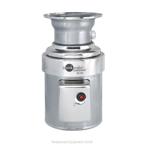 InSinkErator SS-125-15B-MSLV Disposer (Magnified)