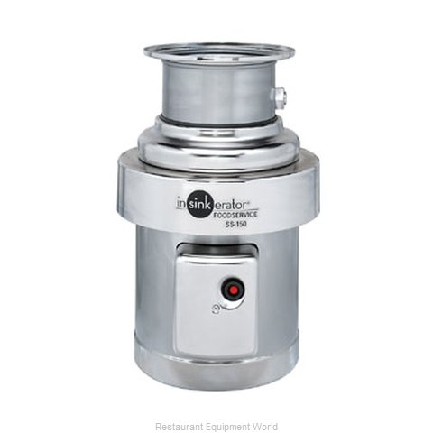 InSinkErator SS-150-18B-MSLV Disposer (Magnified)