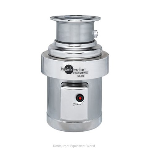 InSinkErator SS-200-18C-MSLV Disposer (Magnified)