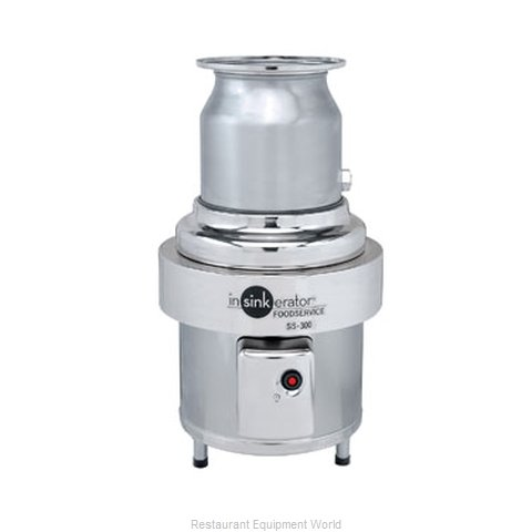 InSinkErator SS-300-12B-MSLV Disposer (Magnified)