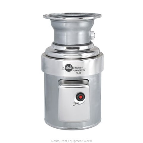 InSinkErator SS-75-12C-AS101 Disposer (Magnified)