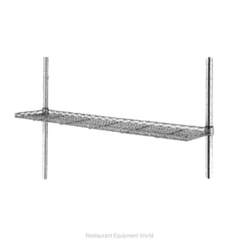 Intermetro 1224CSN-DSG Shelving, Wire Cantilevered (Magnified)