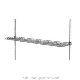 Intermetro 1224CSNBL Shelving, Wire Cantilevered