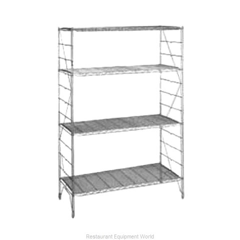 Intermetro 1287C Shelving Upright (Magnified)