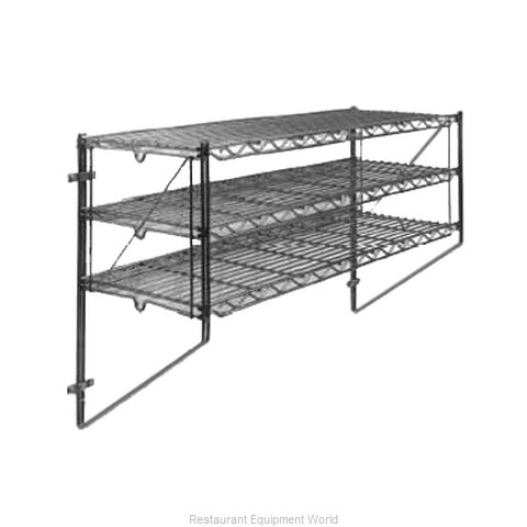 Intermetro 12WS52C Shelving, Wall-Mounted (Magnified)