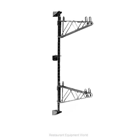 Intermetro 13PDFS Super Erecta Wall Mounts, Posts & Brackets (Magnified)