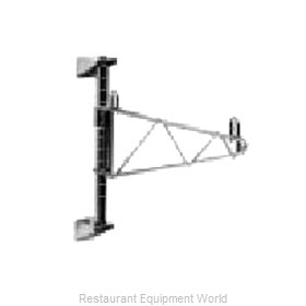 Intermetro 1WS24C Wall Mount, for Shelving