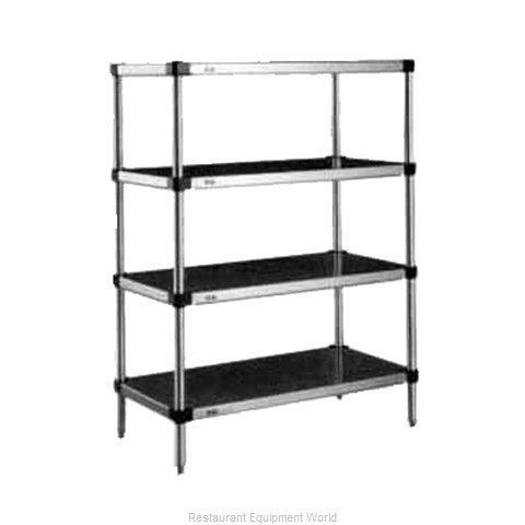 Intermetro 2448HLS Shelving Louvered Slotted (Magnified)