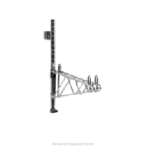 Intermetro 33PDFS Super Erecta Wall Mounts, Posts & Brackets (Magnified)