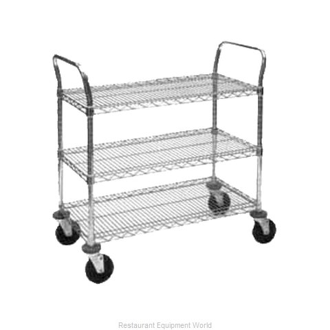 Intermetro 3SPN43DC Utility Cart (Magnified)