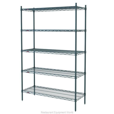 Intermetro 5A357K3 Shelving Unit, Wire (Magnified)