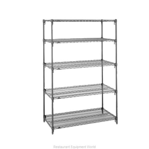 Intermetro 5AA437K3 Shelving Unit, Wire (Magnified)