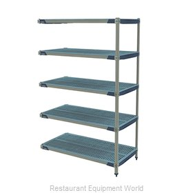 Intermetro 5AX357GX3 Shelving Unit, All Plastic