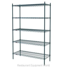 Intermetro 5N567BR Shelving Unit, Wire