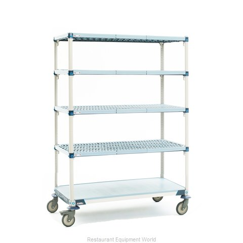 Intermetro 5Q537EG3 Shelving Unit, Plastic with Metal Post (Magnified)
