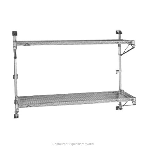 Intermetro 63PDFS Super Erecta Wall Mounts, Posts & Brackets (Magnified)