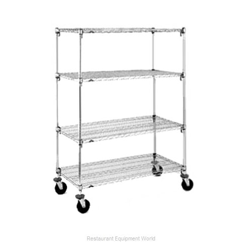 Intermetro A366EC Super Adjustable Super Erecta Stem Caster Cart