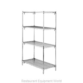 Intermetro A416C Shelving Unit, Wire