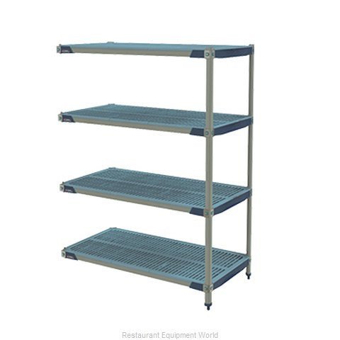 Intermetro AX336GX3 Shelving Unit, All Plastic