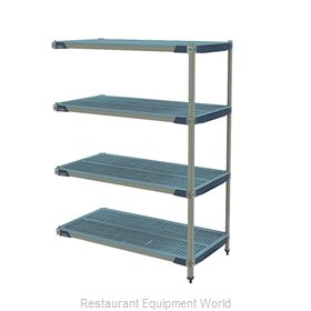 Intermetro AX356GX3 Shelving Unit, All Plastic