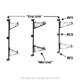 Intermetro BCS Super Erecta Intermediate Bracket