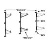 Intermetro BES Super Erecta End Bracket