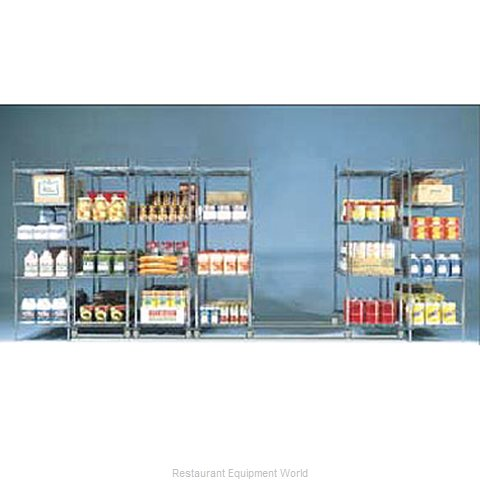 Intermetro BTS21NA Track Shelving Section (Magnified)
