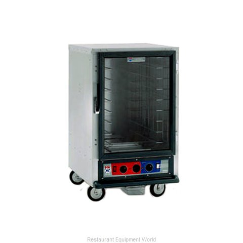 Intermetro C515-HFC-4A Heated Holding Cabinet Mobile Half-Height