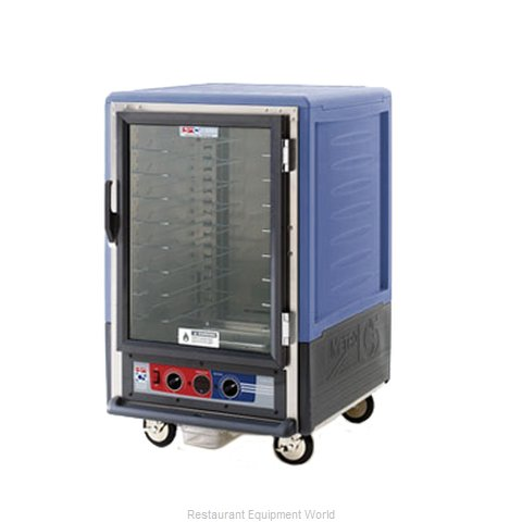 Intermetro C535-HFC-U-BUA Heated Holding Cabinet Mobile Half-Height (Magnified)