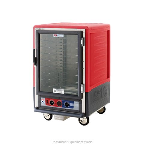 Intermetro C535-HLFC-LA Heated Holding Cabinet Mobile Half-Height