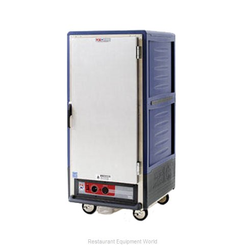 Intermetro C537-HFS-4-BUA Heated Holding Cabinet Mobile (Magnified)
