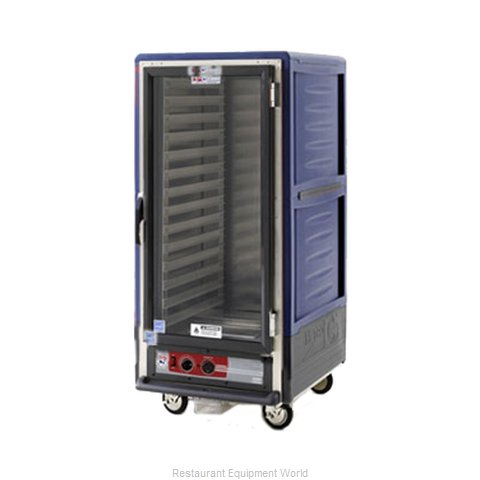 Intermetro C537-HLFC-4-BU Heated Cabinet, Mobile (Magnified)