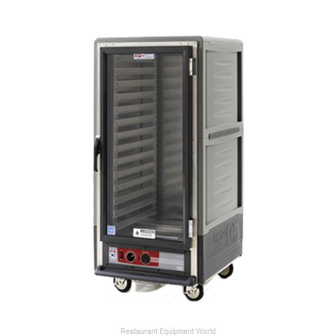 Intermetro C537-HLFC-4-GYA Heated Holding Cabinet Mobile (Magnified)