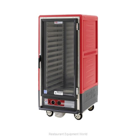 Intermetro C537-HLFC-4A Heated Holding Cabinet Mobile