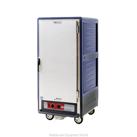 Intermetro C537-HLFS-L-BU Heated Cabinet, Mobile