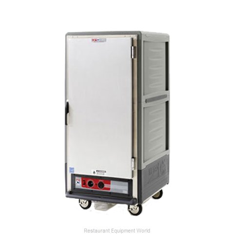 Intermetro C537-HLFS-U-GY Heated Cabinet, Mobile (Magnified)