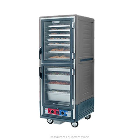Intermetro C539-HLDC-4-GY Heated Cabinet, Mobile