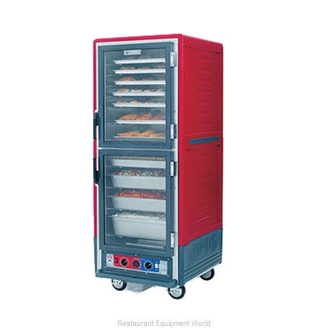 Intermetro C539-HLDC-4A Heated Cabinet, Mobile