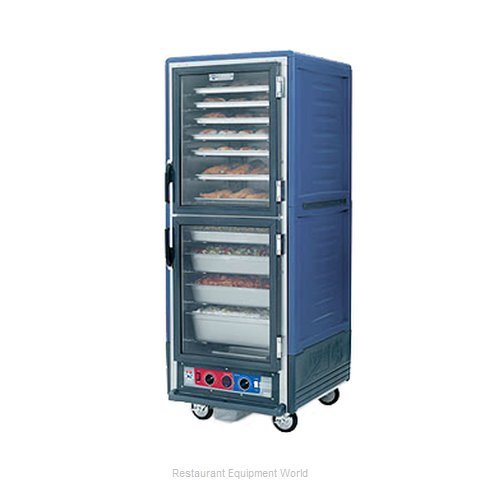 Intermetro C539-HLDC-U-BU Heated Holding Cabinet Mobile (Magnified)