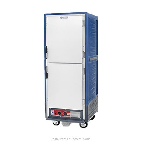 Intermetro C539-HLDS-4-BU Heated Cabinet, Mobile (Magnified)