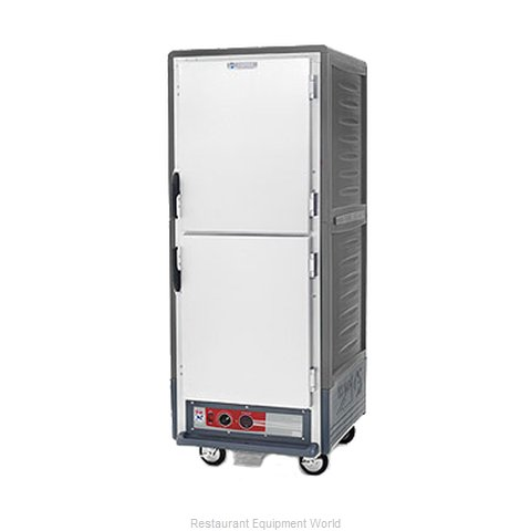 Intermetro C539-HLDS-L-GY Heated Holding Cabinet Mobile