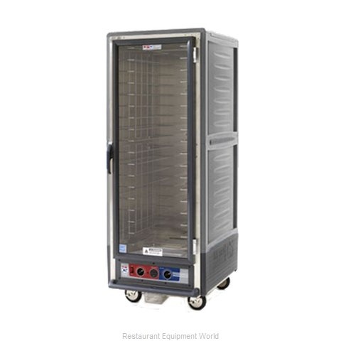 Intermetro C539-HLFC-4-GY Heated Cabinet, Mobile