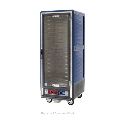 Intermetro C539-HLFC-L-BU Heated Cabinet, Mobile (Magnified)