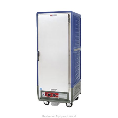 Intermetro C539-HLFS-4-BU Heated Cabinet, Mobile (Magnified)