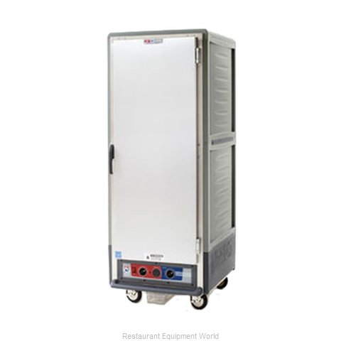 Intermetro C539-HLFS-U-GY Heated Holding Cabinet Mobile