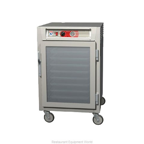 Intermetro C563L-SFC-LA Heated Holding Cabinet Mobile Half-Height (Magnified)