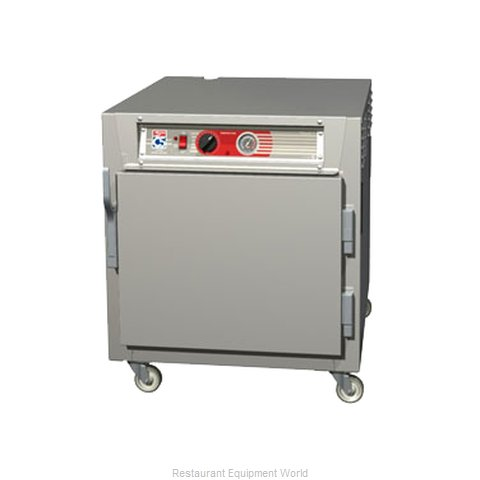 Intermetro C563L-SFS-L Heated Holding Cabinet Mobile Half-Height