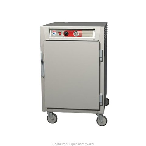 Intermetro C565-NFS-LA Heated Holding Cabinet Mobile Half-Height